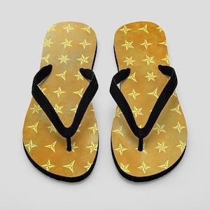 SPARKLY STARS Flip Flops