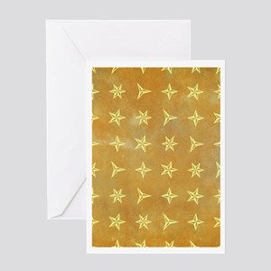 SPARKLY STARS Greeting Card