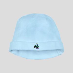 ATV Woman Blonde baby hat