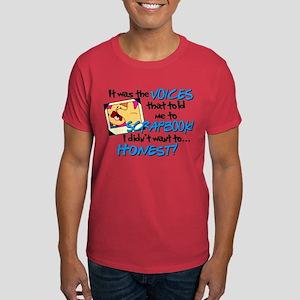 Scrapbooking Voices Dark T-Shirt