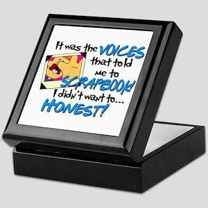 Scrapbooking Voices Keepsake Box