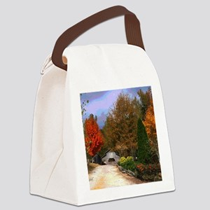 Autumn on a Alabama Ranch Canvas Lunch Bag