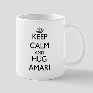 Keep Calm and HUG Amari Mugs