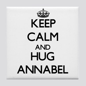 Keep Calm and HUG Annabel Tile Coaster