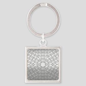 metal art kaleido Keychains