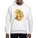 Gold Bitcoin Symbol Hoodie