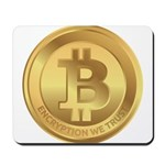 Bitcoin Encryption We Trust Mousepad