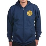 Bitcoin Encryption We Trust Zip Hoodie (dark)
