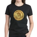 Bitcoin Encryption We Trust Women's Dark T-Shirt
