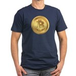 Bitcoin Encryption We Trust Men's Fitted T-Shirt (