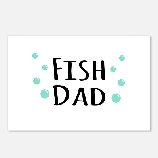 Fish Dad Postcards (Package of 8)