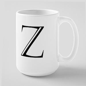 Letter Z Mugs
