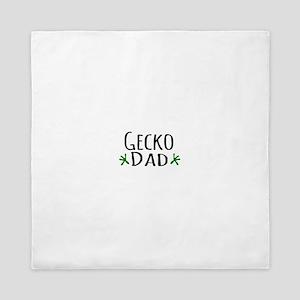 Gecko Dad Queen Duvet