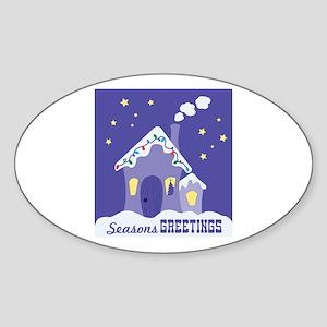 Seasons GREETINGS Sticker