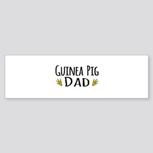Guinea pig Dad Bumper Sticker