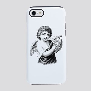 Vintage Christmas Boy Angel wi iPhone 7 Tough Case