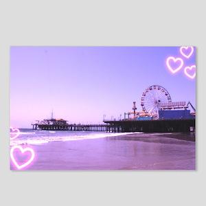 Purple Hearts Pier Postcards (Package of 8)