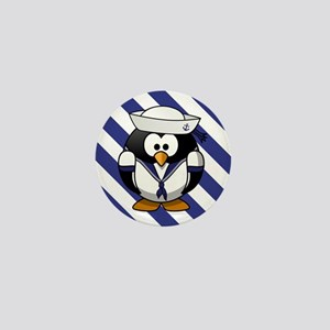 USN PENGUIN Mini Button