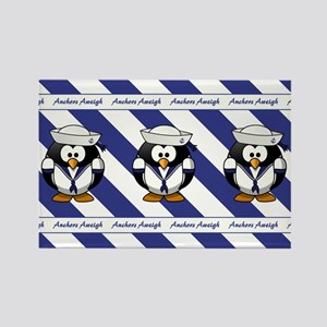 USN PENGUIN Rectangle Magnet