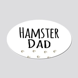 Hamster Dad Wall Sticker