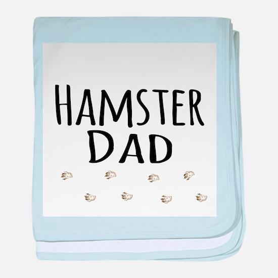 Hamster Dad baby blanket