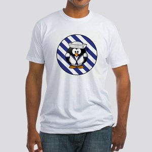 USN PENGUIN Fitted T-Shirt