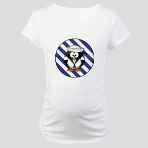 USN PENGUIN Maternity T-Shirt