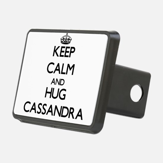 Keep Calm and HUG Cassandra Hitch Cover