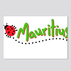 mauritius cochineal Postcards (Package of 8)