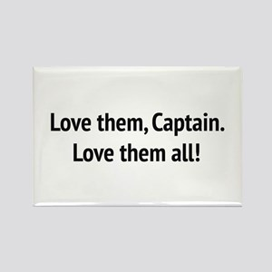 "Sound of Music - ""Love Them, Captain!"" Magnets"