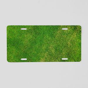 Abstract Art Design Aluminum License Plate