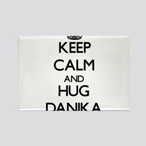 Keep Calm and HUG Danika Magnets
