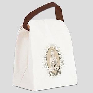 Elegant Buddha in Meditation Canvas Lunch Bag