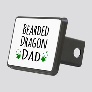 Bearded Dragon Dad Rectangular Hitch Cover