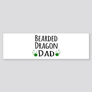 Bearded Dragon Dad Bumper Sticker