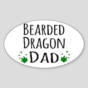 Bearded Dragon Dad Sticker