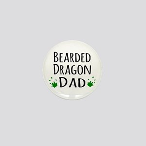 Bearded Dragon Dad Mini Button