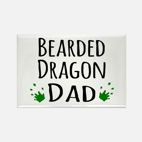 Bearded Dragon Dad Magnets