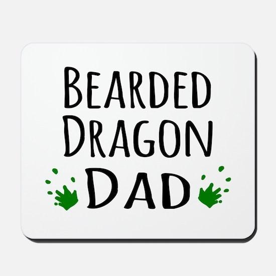 Bearded Dragon Dad Mousepad
