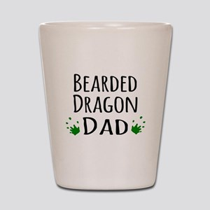 Bearded Dragon Dad Shot Glass