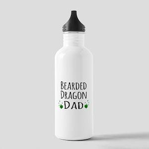 Bearded Dragon Dad Sports Water Bottle
