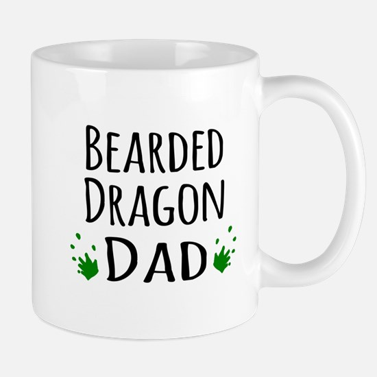Bearded Dragon Dad Mugs