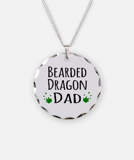 Bearded Dragon Dad Necklace