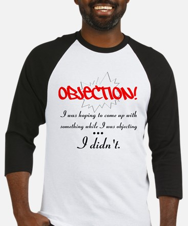 Objection Baseball Jersey