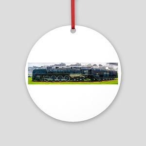 Locomotive Panorama Ornament (Round)