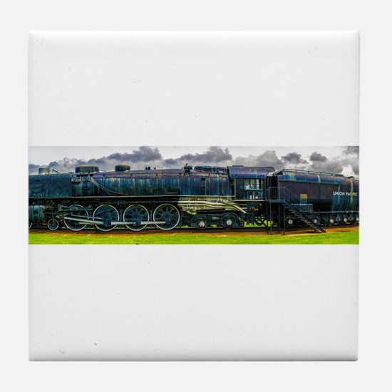 Locomotive Panorama Tile Coaster