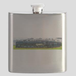 Locomotive Panorama Flask