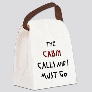 cabin calls Canvas Lunch Bag