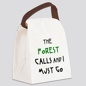 forest calls Canvas Lunch Bag