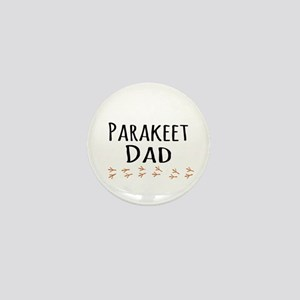 Parakeet Dad Mini Button